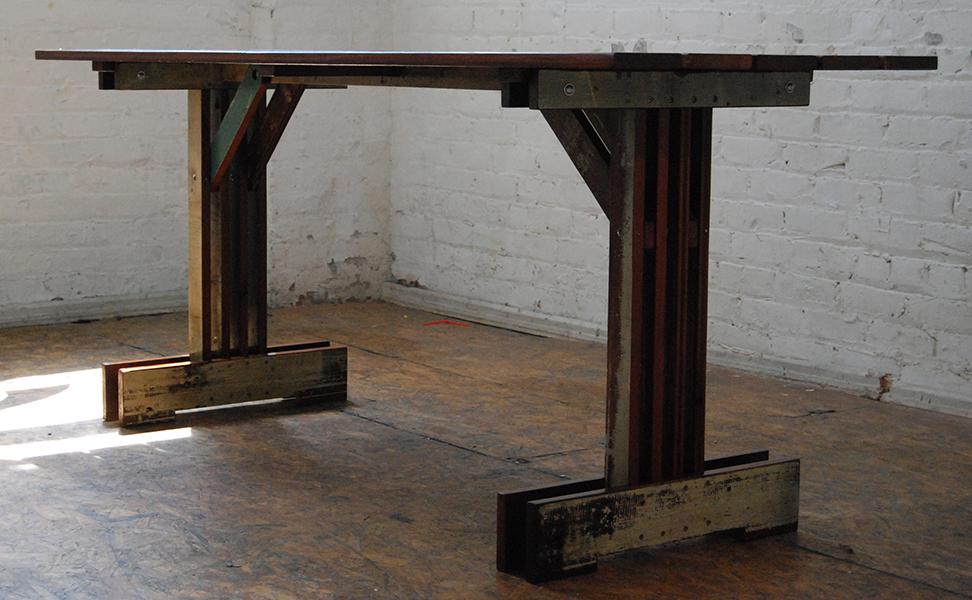 Plank Trestle Table 10