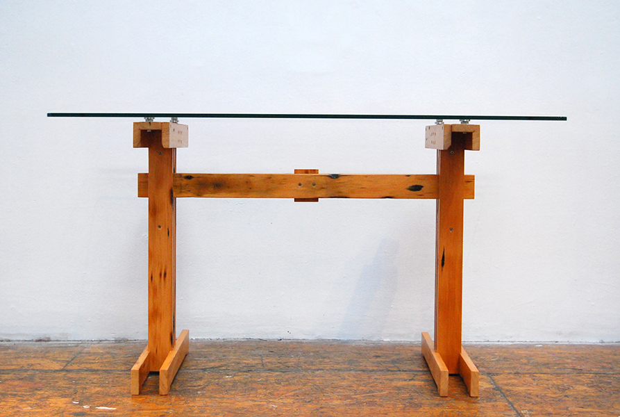 Plank Trestle Table 11