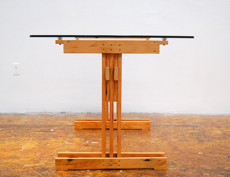 Plank Trestle Table 12