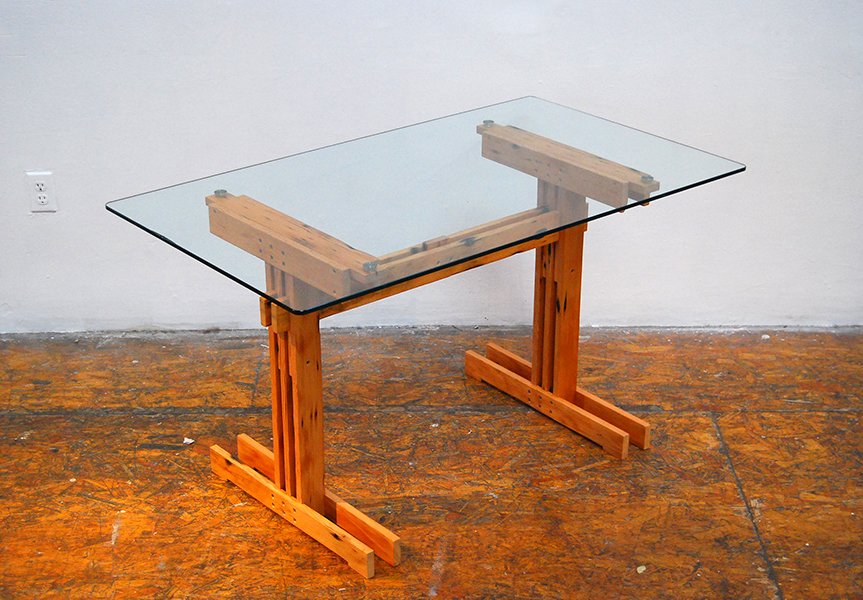 Plank Trestle Table 13
