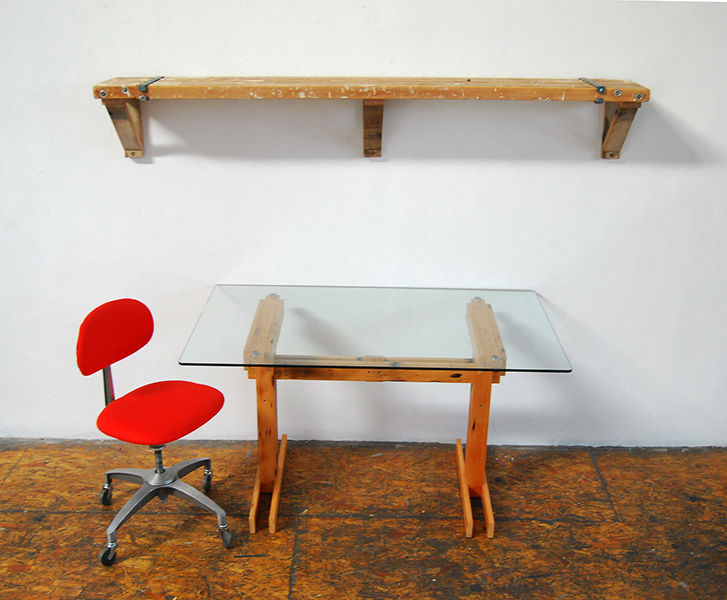 Plank Trestle Table 15