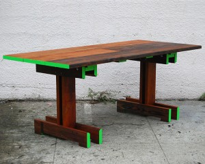 Plank Trestle Tables