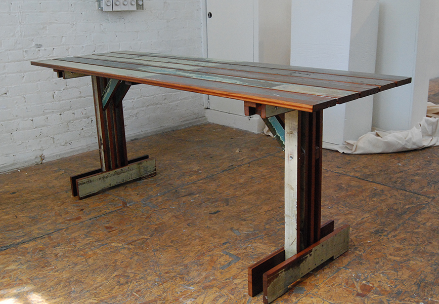 Plank Trestle Table 2