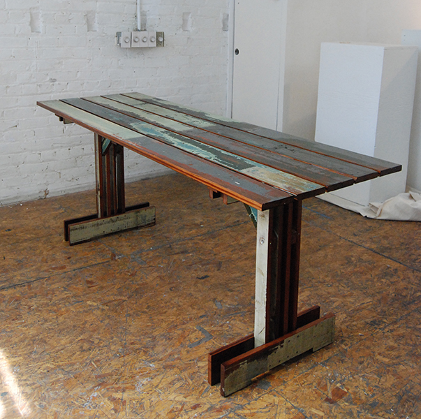Plank Trestle Table 3
