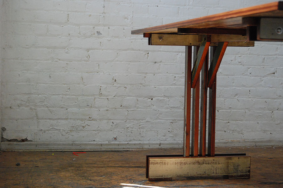 Plank Trestle Table 4