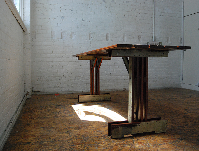Plank Trestle Table 5