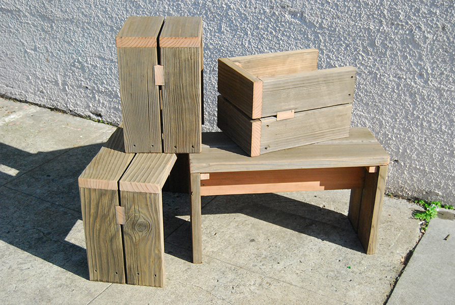 Weathered Benches 7