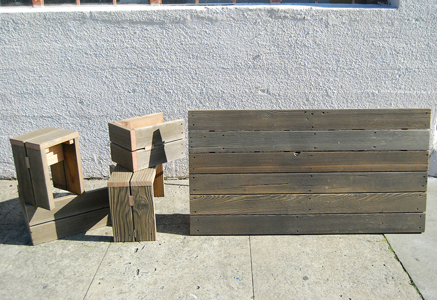 Weathered Benches 8