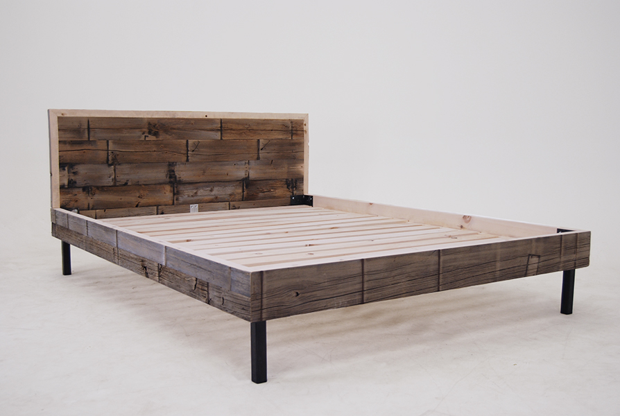 Weathered Cedar Bed 1