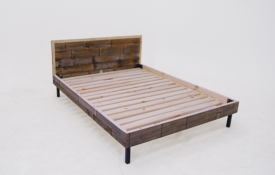 Weathered Cedar Bed 4