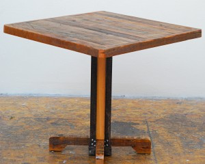 Pedestal Bistro Table