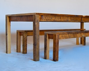 Work Table and Benches