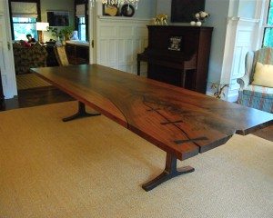 Widened Slab Table