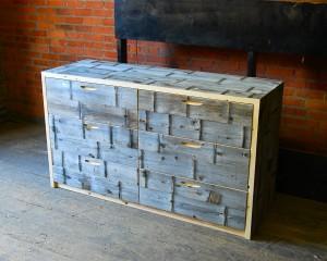 Cedar Flat Front Dresser