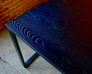 Indigo Ash Table