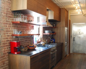 Oxidized Oak Kitchen