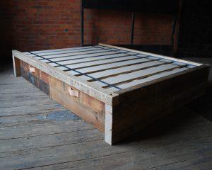Pine Platform Bed