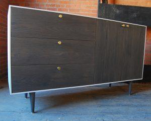 Oxidized Oak Dresser
