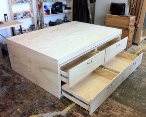 Ply Storage Bed