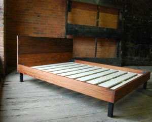 Weathered Redwood Bed