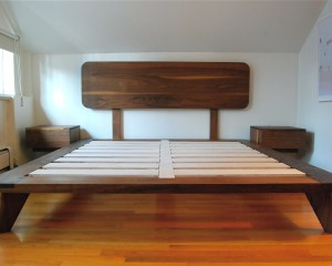 New Century Platform Bed